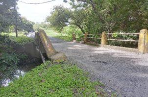 Se informó que una sección del puente debió ser reforzada años atrás por parte del Ministerio de Obras Públicas (MOP). Foto: Eric Montenegro