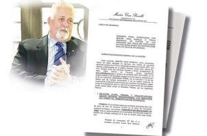 La denuncia fue presentada ante el Ministerio Público.