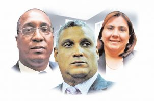 Mejía, Caraballo y Morcillo, presuntamente, sostuvieron una reunión inusual.
