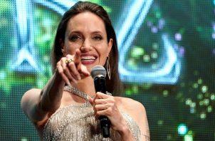 La actriz estadounidense Angelina Jolie. Foto: EFE