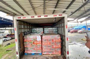 Por el momento no se ha dado a conocer el valor total de la mercancía incautada. Foto: Cortesía Autoridad de Aduanas