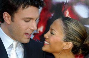 Ben y Jennifer. Foto: Archivo