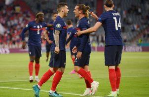 Francia empezó la Eurocopa con una afortunada victoria ante los alemanes. Foto: EFE