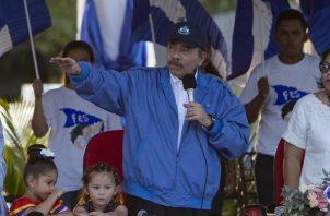 El presidente de Nicaragua, Daniel Ortega. EFE