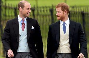 El príncipe Guillermo y su hermano Enrique. EFE
