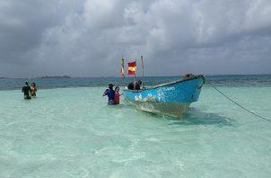 Guna Yala ha mantenido una discreta apertura de su territorio desde que la pandemia empezó. Foto: Grupo Epasa