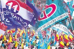 En Panamá hay siete partidos políticos legalmente constituidos.