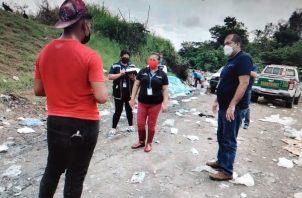 Un menor de 16 años de edad realizaba labores de recolección de desechos. Foto: Mayra Madrid