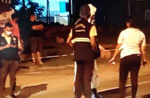 Personal del Criminalística y del Ministerio Público acudieron a los lugares de los accidentes. Foto: Mayra Madrid