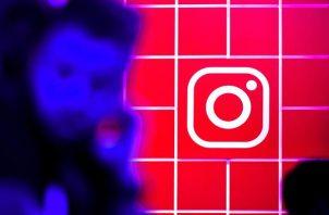 En la imagen, el logo de Instagram. Foto: EFE