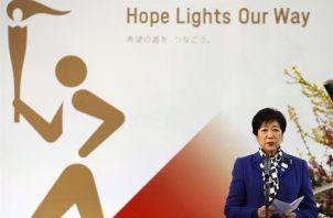 La gobernadora del Área Metropolitana de Tokio, Yuriko Koike. EFE