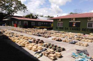 En lo que va del mes de junio se han realizado varias incautaciones de drogas en Punta Burica. Foto. Mayra Madrid