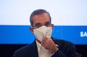 Luis Abinader es el presidente de República Dominicana. Foto: EFE