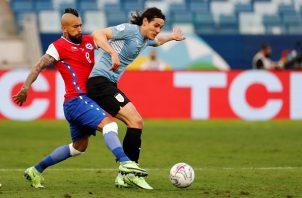 Chile alcanzó los cinco puntos en tres encuentros disputados. Foto: EFE