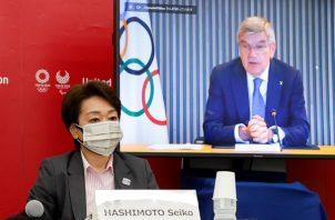 Presidenta de Tokio 2020, Seiko Hashimoto. Foto: EFE
