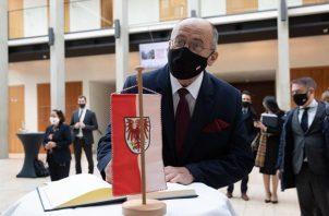 Ministro polaco de Asuntos Exteriores, Zbigniew Rau. Foto: EFE