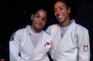 Kristine Jiménez y Miryam Roper. Fopto: Cortesía