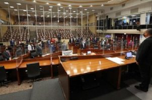 El presidente saliente de la Asamblea, Marcos Castillero, siempre se mostró como un ameno colaborador del Órgano Ejecutivo. Foto: Archivo