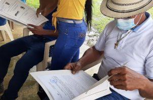 Familias llevan más de 40 años viviendo en el área sin contar con títulos de propiedad. Foto: Diomedes Sánchez