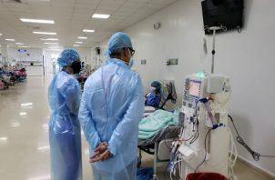 El martes el Ministerio de Salud reportó 1,208 casos de covid-19 y seis muertes. Foto: Archivo