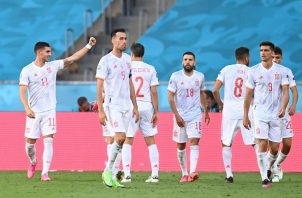 España se enfrentará a Croacia en octavos de final. Foto: EFE