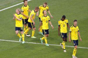 Suecia aseguró el primer lugar del grupo E. Foto: EFE