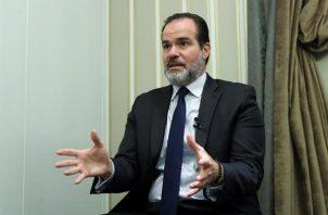 En la imagen, el presidente del Banco Interamericano de Desarrollo, Mauricio Claver-Carone. Foto: EFE