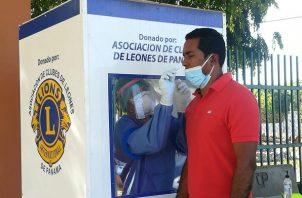 A la fecha se aplicaron 13,947 pruebas nuevas de contagio de covid-19. Foto: Cortesía Minsa