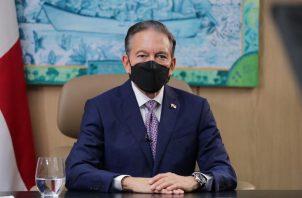 El presidente Laurentino Cortizo participó en la cumbre del Sica junto a sus homólogos de Centroamérica, República Dominicana y el presidente de Corea del Sur, Moon Jae-in.