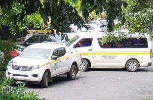 Denuncian uso de vehículos del Estado. Foto: Cortesía