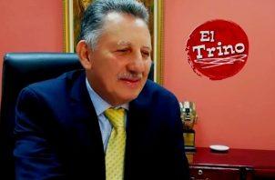 Una administración de puertas abiertas, ofrece César García, candidato a rector de la Universidad de Panamá. Foto: Cortesía
