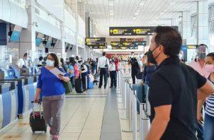 Los cubanos serán enviados a su país de origen, ya que no pueden quedarse en Panamá. Foto: Cortesía SNM
