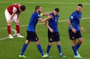 Austria casi sorprende a Italia. Foto: EFE