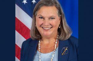 Subsecretaria de Estado para Asuntos Políticos de Estados Unidos, Victoria Nuland, visita Panamá. Foto: Redes Sociales