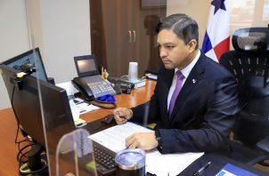 Viceministro de Finanzas de Panamá, Jorge Luis Almengor Caballero.