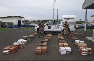 En lo que va del año se han realizado 70 operaciones en las que se han incautado 36,552 paquetes de sustancias ilícitas. Foto. Archivo