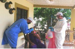 Monagrillo acumula 192 casos activos de coronavirus. Foto: Thays Domínguez