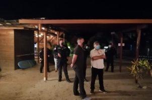 Las autoridades de salud investigan la fiesta que se realizó en playa Venao. Foto: Thays Domínguez