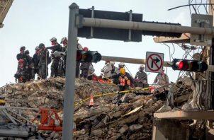Se desconocen las causas del derrumbe del edificio de 12 plantas en Surfside (Miami-Dade). EFE