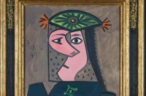 """El cuadro """"Cabeza de mujer"""" fue pintado por Pablo Picasso en 1939."""