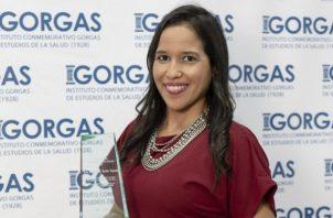 Dra. Mairim Solís, ganadora en 2020. Foto: Cortesía