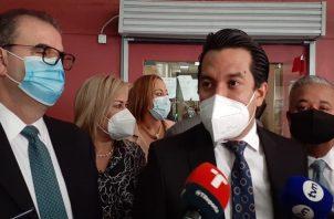 Luis Eduardo Camacho destacó que Medicina Legal dio constancia de las incapacidades médicas de Ricardo Martinelli. Foto: Víctor Arosemena
