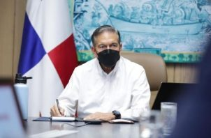El presidente de la República, Laurentino Cortizo repitió el mismo discurso ya escuchado de promesas.