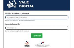 Desde el 1 de febrero de 2021, el monto del Vale Digital aumentó de 100 a 120 dólares.