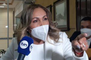 Yanibel Ábrego es diputada de Cambio Democrático. Foto: Víctor Arosemena
