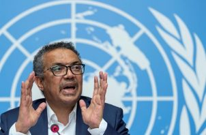 El director general de la Organización Mundial de la Salud (OMS), Tedros Adhanom Ghebreyesus. EFE