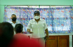 Eyra Ruiz dijo que espera saber realmente qué paso con el tema de la vacunación clandestina. Foto: Cortesía Minsa