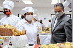 Uno de los cursos con más demanda fue el de gastronomía. Foto: Cortesía Inadeh