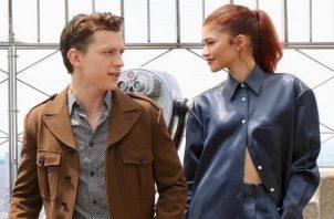 Tom Holland y Zendaya. Foto: Instagram