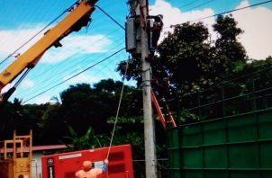 Varias comunidades de Azuero registraron afectaciones en energía eléctrica por más de un día seguido. Foto: Thays Domínguez